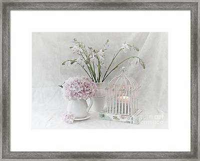 Mother...tell Me Your Memories Framed Print by Sherry Hallemeier