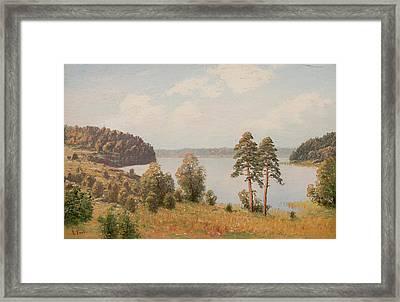 Motif From Saimaa Lake Framed Print