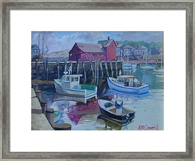 Motif Number One Framed Print by Michael McDougall