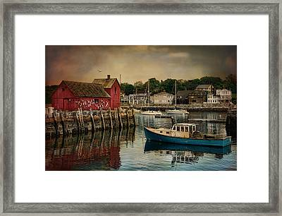Motif Number One Framed Print