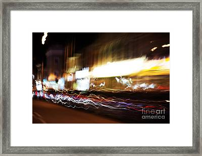 Motion 6145 Framed Print