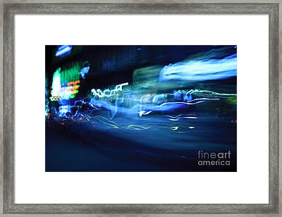 Motion 6154 Framed Print