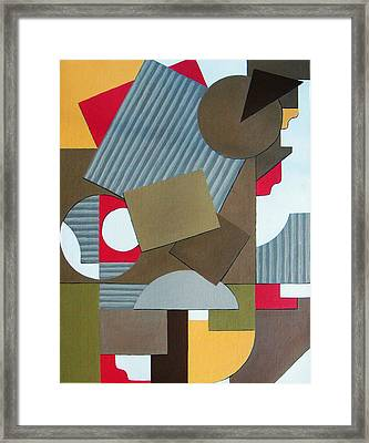 Motion Framed Print by Katerina Wert