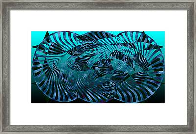 Motion1 Framed Print by Evelyn Patrick