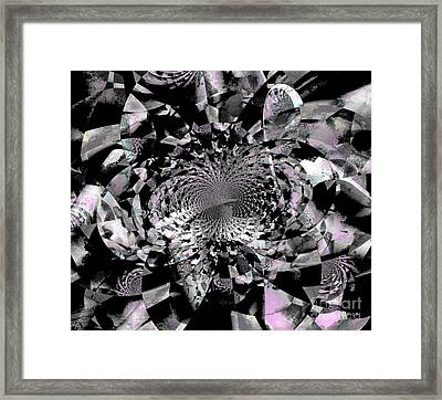 Motivation - Faith Comes By Hearing Framed Print by Fania Simon