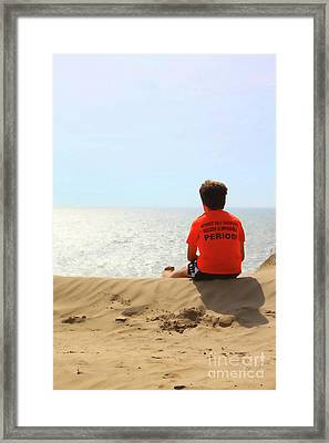 Motivation Framed Print by Cathy  Beharriell