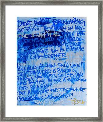 Motivation Framed Print