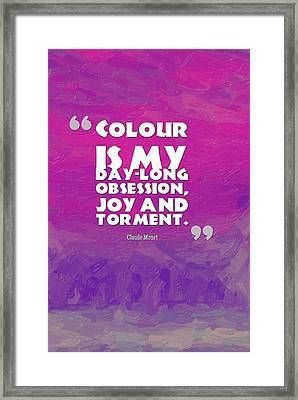 Motivational Quotes - 79 Framed Print by Celestial Images