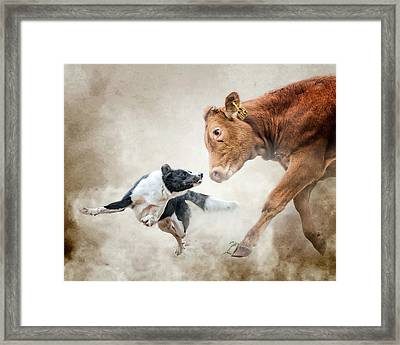 Motivational Skills Framed Print by Ron McGinnis