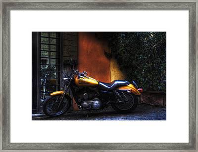 Moto 1 Framed Print by Brian Thomson