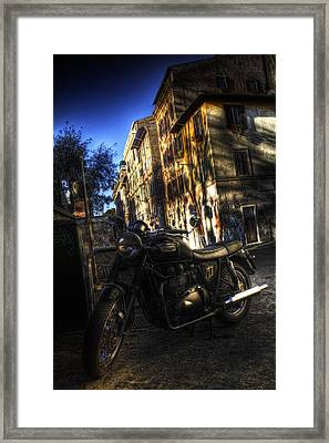 Moto 2 Framed Print by Brian Thomson