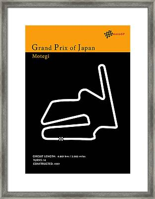 Moto Gp Japan Framed Print