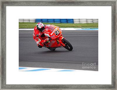 Moto Grand Prix 2015 Framed Print by Blair Stuart