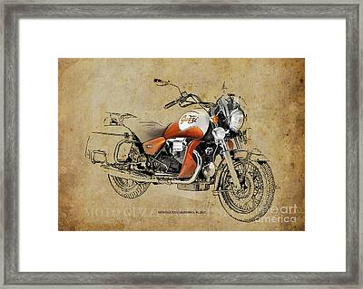 Moto Guzzi California 90 2012 Framed Print