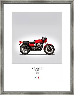 Moto Guzzi Le Mans Framed Print