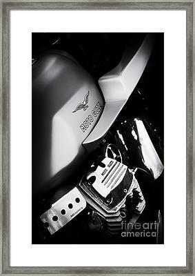 Moto Guzzi V7 Cafe Racer Framed Print
