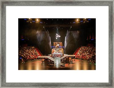Moto In The House Of Dancing Water. Framed Print