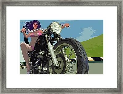 Motomama 12 And 35 Framed Print by Geoff Greene