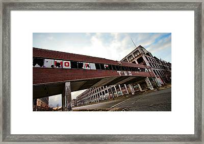 Motor City Industrial Park The Detroit Packard Plant Framed Print