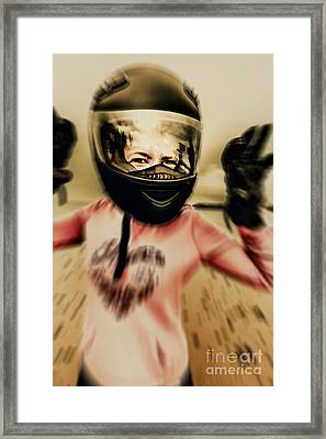 Motorbike Accident  Framed Print by Jorgo Photography - Wall Art Gallery