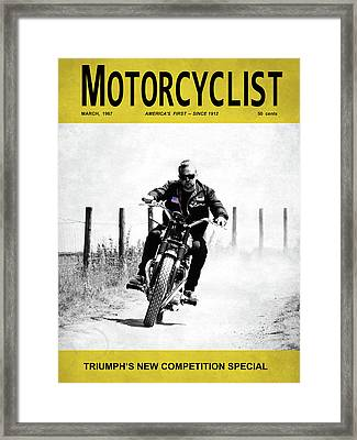 Motorcycle Magazine Competition Special 1967 Framed Print