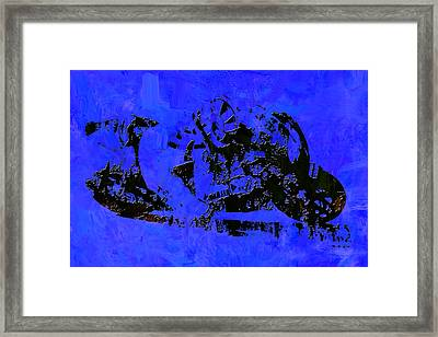 Motorcycle Racing 2a Framed Print
