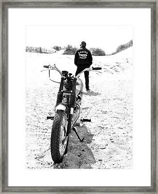 Motorcycle Racing Team Framed Print