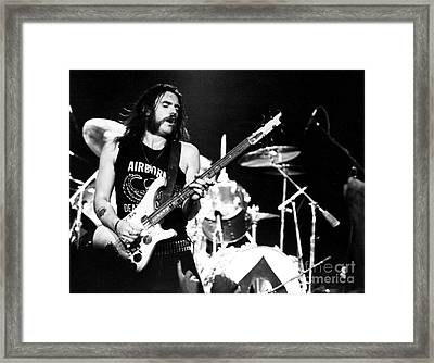 Motorhead Lemmy 1979 Framed Print