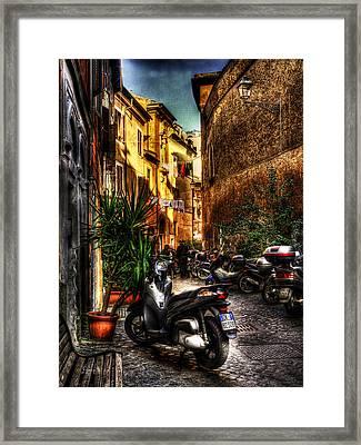 Motorino 1 Framed Print by Brian Thomson