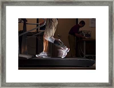 Motorized Springs In A Powered Ankle Framed Print