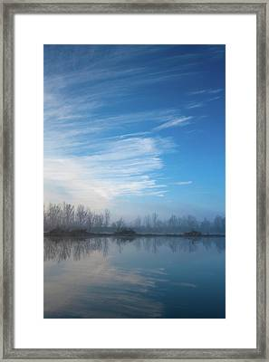 Mottled Sky Framed Print