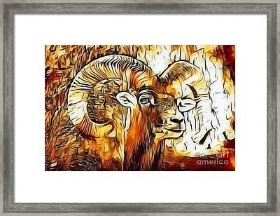 Mouflon Framed Print