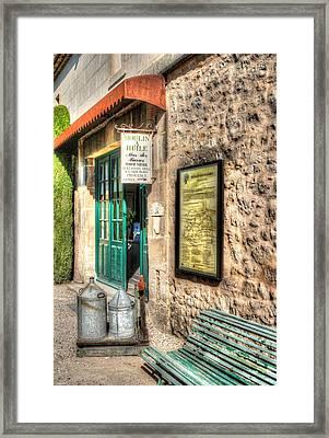 Moulin A Huile Mas Des Barres Provence France Framed Print by Tom Prendergast