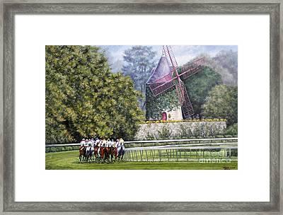 Moulin De Longchamp Framed Print by Thomas Allen Pauly