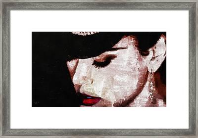 Moulin Rouge - Nicole Kidman Framed Print