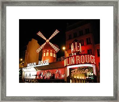 Moulin Rouge Paris Framed Print