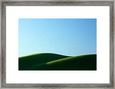 Mounds Framed Print by Todd Klassy