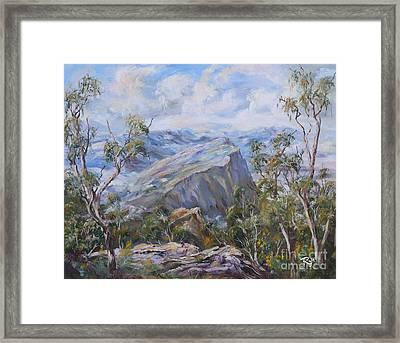 Mount Abrupt Grampians Victoria Framed Print