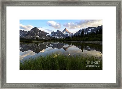 Mount Assiniboine Canada 10 Framed Print
