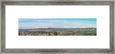 Mount Baldy And Mountain High Framed Print by Angela A Stanton