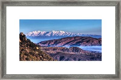 Mount Baldy Framed Print