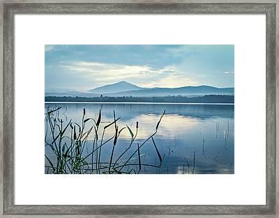 Mount Blue Framed Print