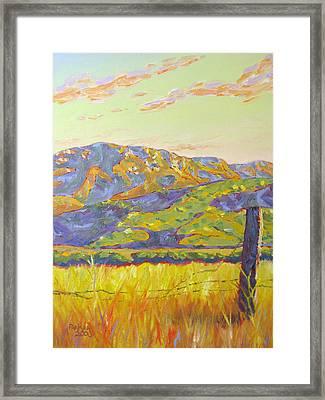 Mount Boney Framed Print by Patrick Parker