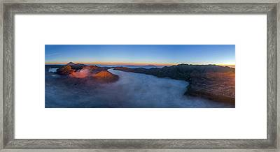 Framed Print featuring the photograph Mount Bromo Scenic View by Pradeep Raja Prints