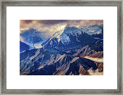 Mount Brooks From Above Framed Print
