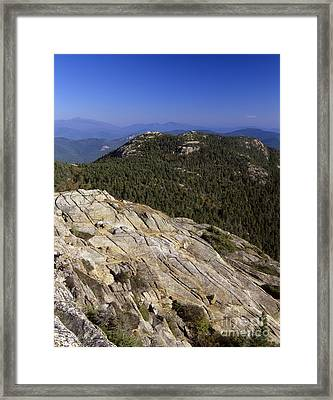 Mount Chocorua - White Mountains New Hampshire Usa Framed Print by Erin Paul Donovan