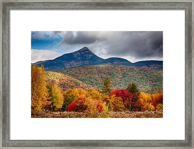 Mount Chocorua-one Framed Print