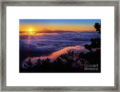 Mount Constitution Sunrise Framed Print