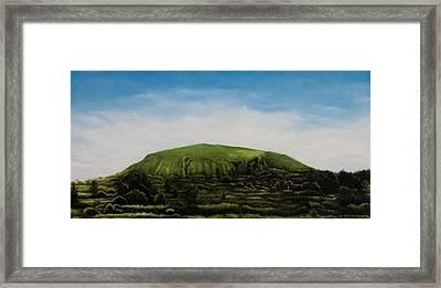 Mount Coolum Framed Print by Joe Michelli