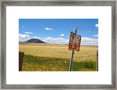 Mount Dora Framed Print